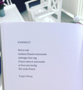Bilde fra Trygve Skaug sin Instagramkonto